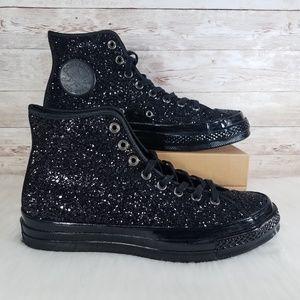 Converse Chuck 70 HI Glittery Black